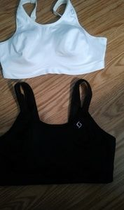 2 Moving Comfort Sports Bras size 36 DD